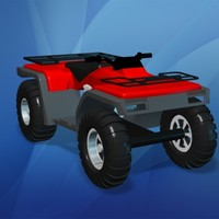 Toy All Terrain Vehicle (ATV)